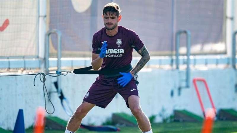 Quintillà, en una imagen compartida en la web oficial del Villarreal CF.