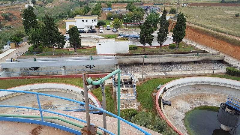 Estación Depuradora de Aguas Residuales (EDAR) de Torrent. EPDA