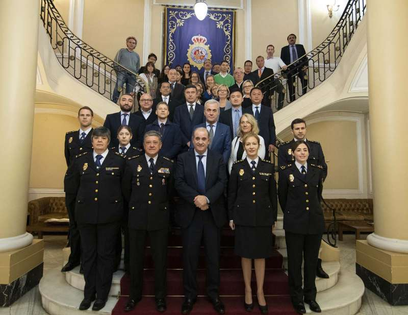 Compromiso de la Policía Nacional con el Turismo Seguro. EPDA