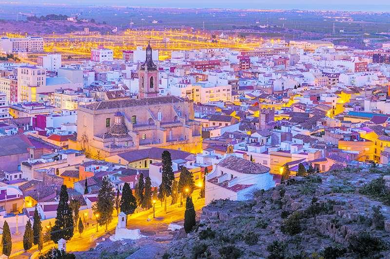 Sagunt, la capital y la ciudad más poblada de la comarca del Camp de Morvedre. EPDA