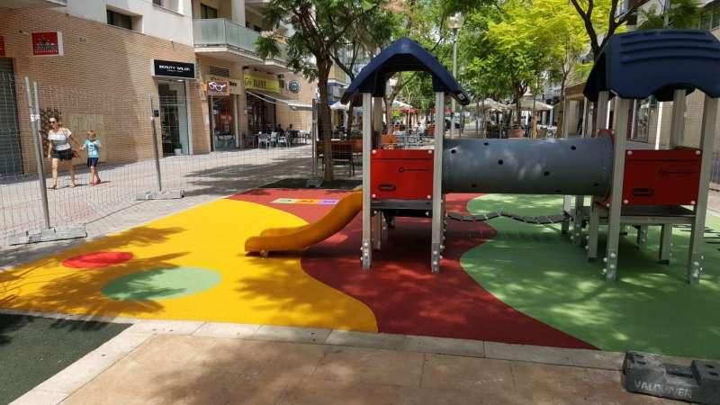 Parque infantil de la calle Ravanell