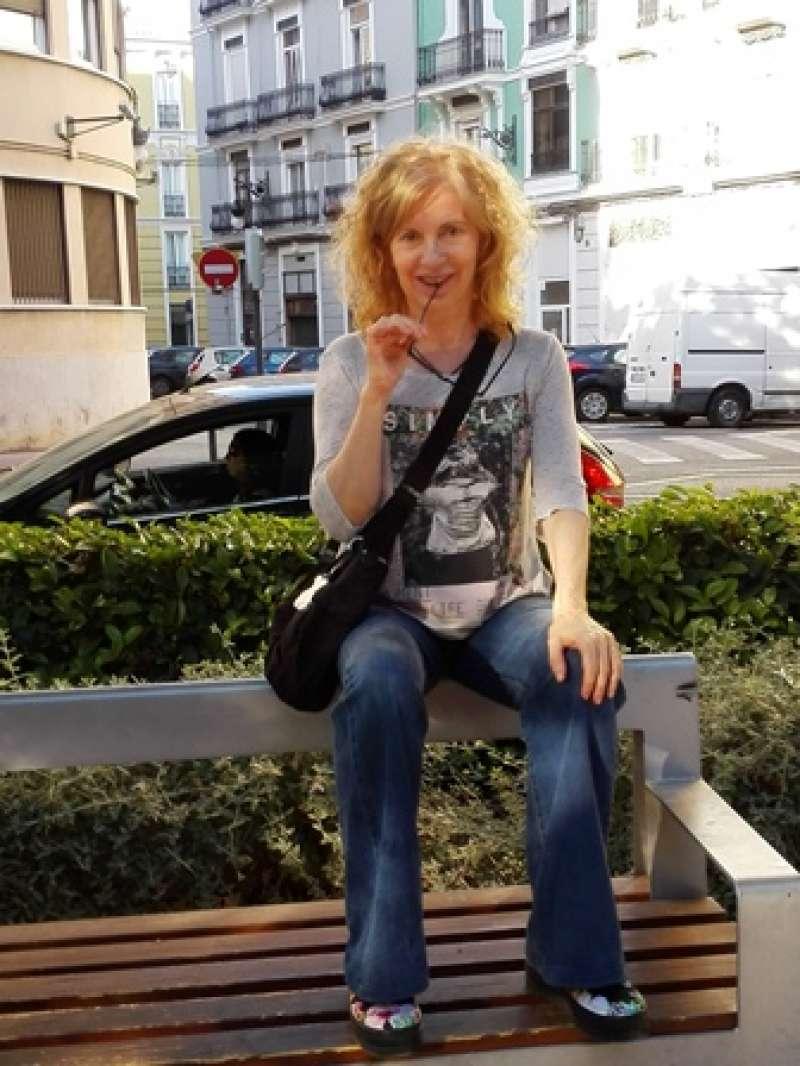 La escritora Anna Genovés. EPDA