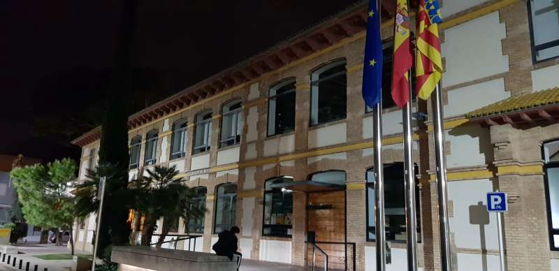 Fachada del ayuntamiento de Massanassa. EPDA