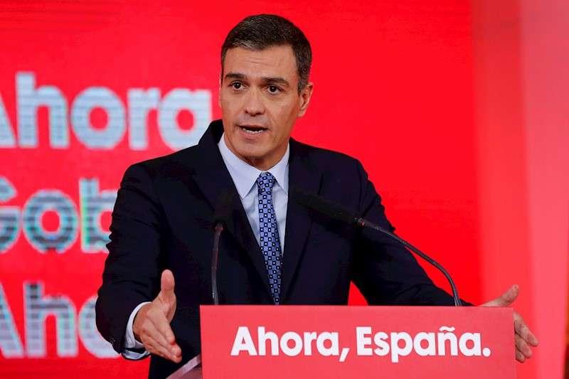 El secretario general del PSOE y presidente del Gobierno en funciones, Pedro Sánchez, en una imagen reciente. EFE