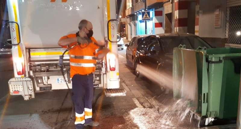 Imagen de las jornadas de limpieza. EPDA