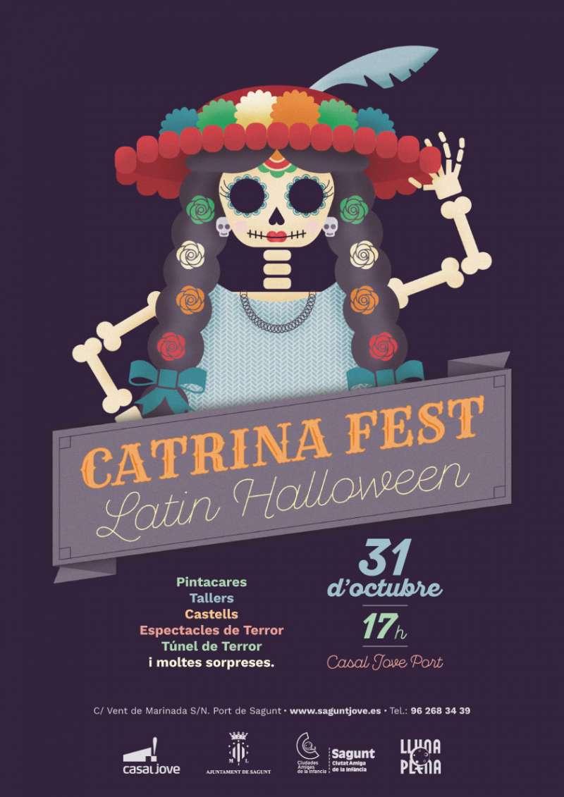 7ea2af89cf26 Sagunt ultima los preparativos para la Catrina Fest-Latin Halloween ...