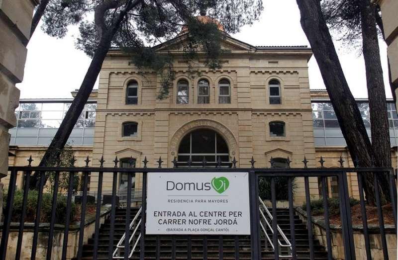 Una imagen de la residencia Domus de Alcoi (Alicante), donde se han registrado más de 70 fallecidos durante la pandemia. EFE