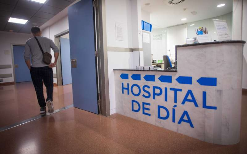 Imagen del interior del Hospital Manises.