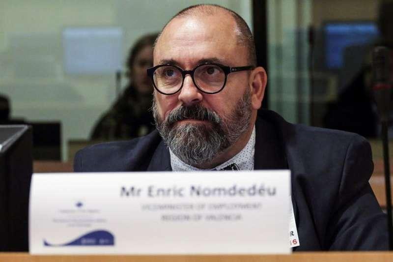 El secretario de Empleo, Enric Nomdedéu. EFE