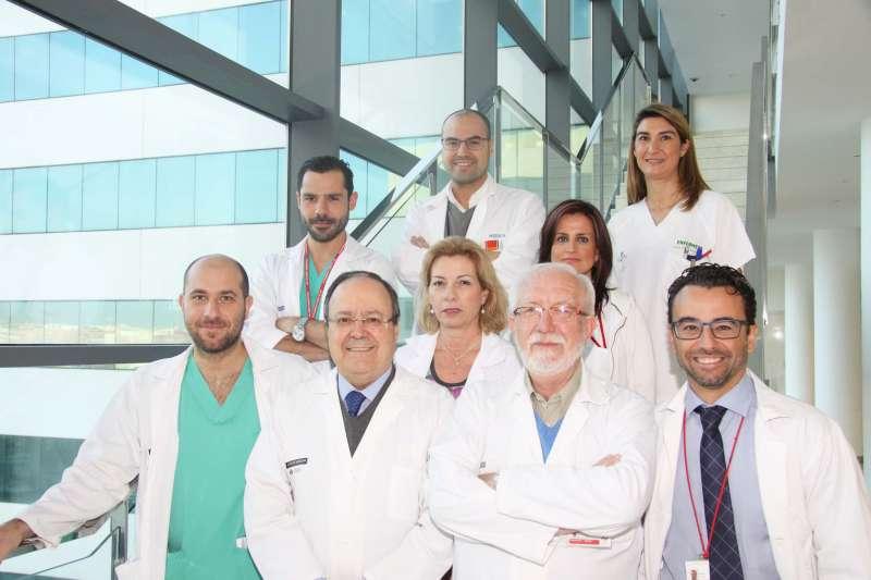 Equipo de cirujanos de La Fe de Valencia. EPDA