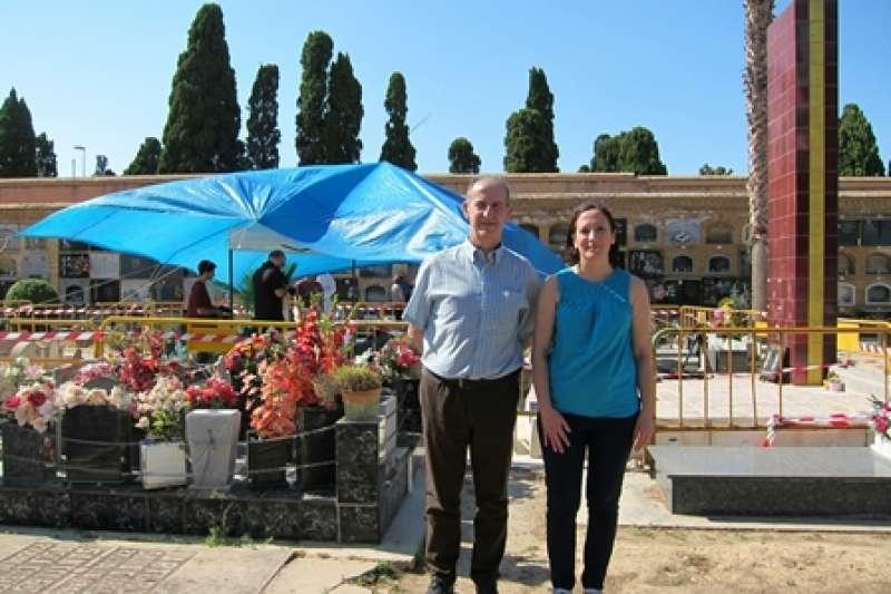 Visita al cementeri de Paterna. EPDA
