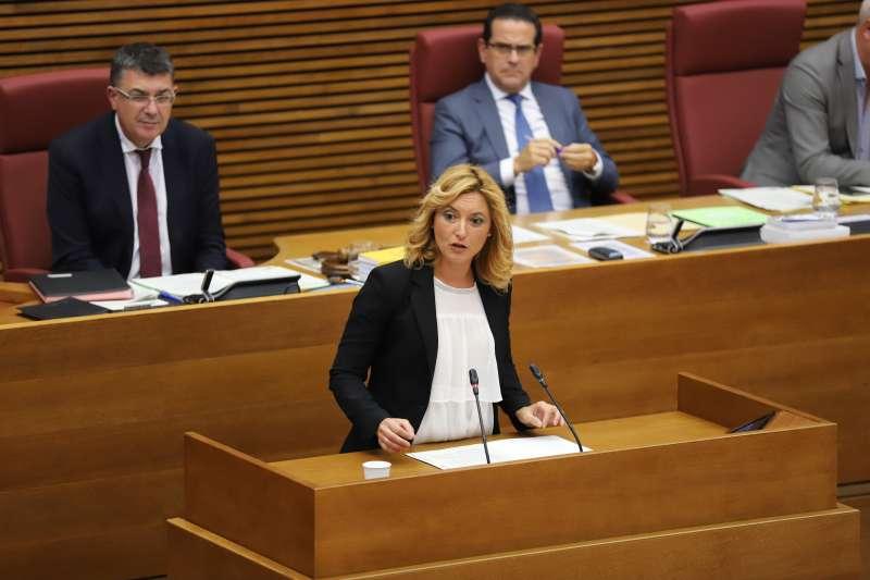 Cristina Gabarda en Les Corts. EPDA