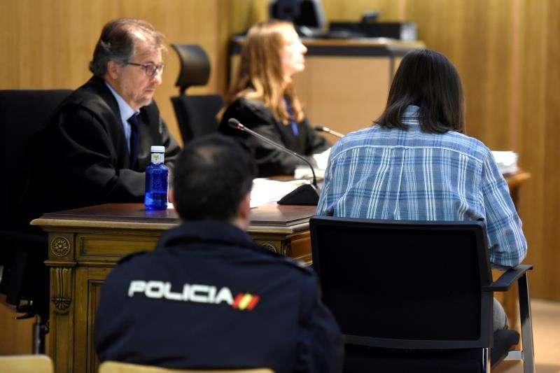 Un acusado durante un juicio en una imagen de archivo. EFE/Archivo