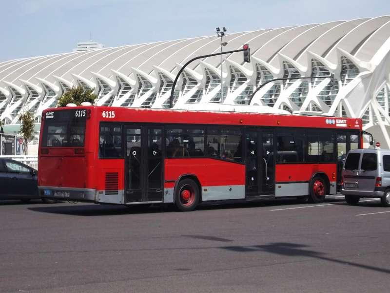 Autobús EMT. EPDA