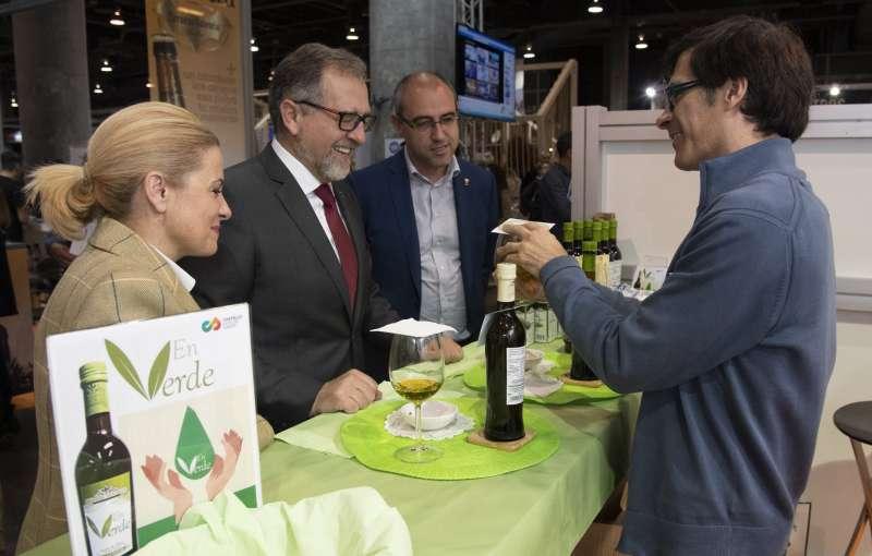 El presidente de la Diputación cata el aceite EnVerde