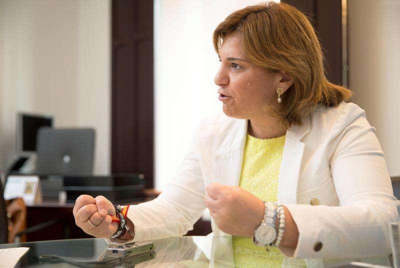 La presidenta del Partido Popular de la Comunitat Valencia (PPCV), Isabel Bonig. EFE/Archivo