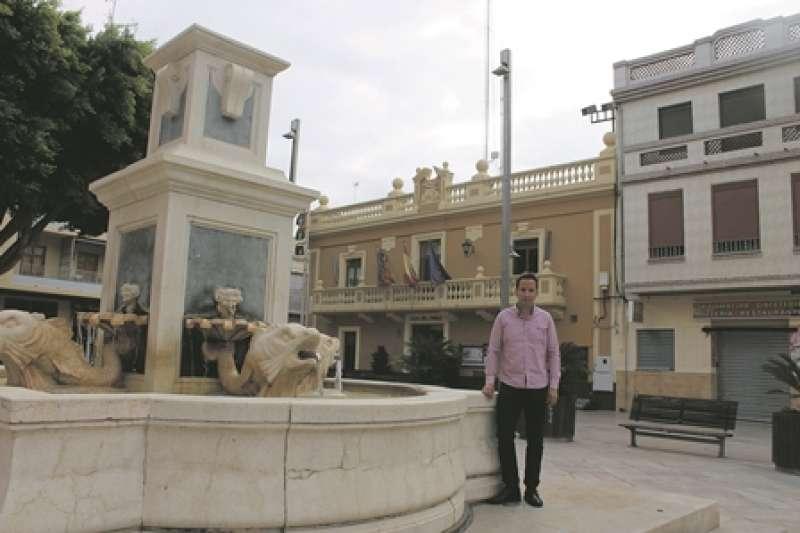El alcalde de Foios, Sergi Ruiz. EPDA