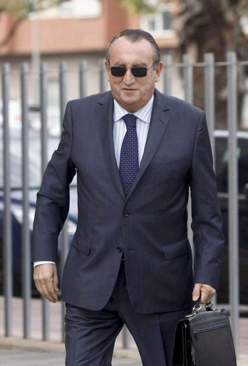 El expresidente del PP y de la Diputación de Castellón Carlos Fabra. EFE/ Archivo