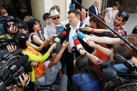 El secretario general del PSPV-PSOE, Ximo Puig. Foto EPDA