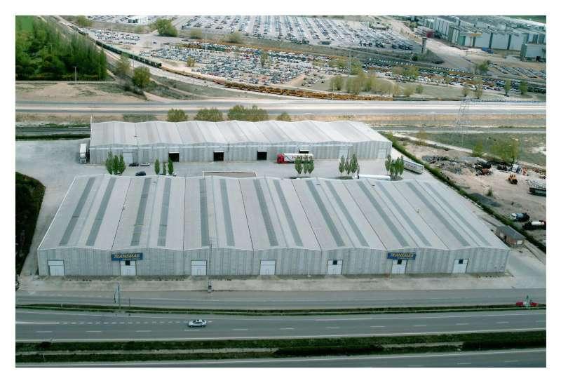 El almacén polivalente ubicado en Palencia