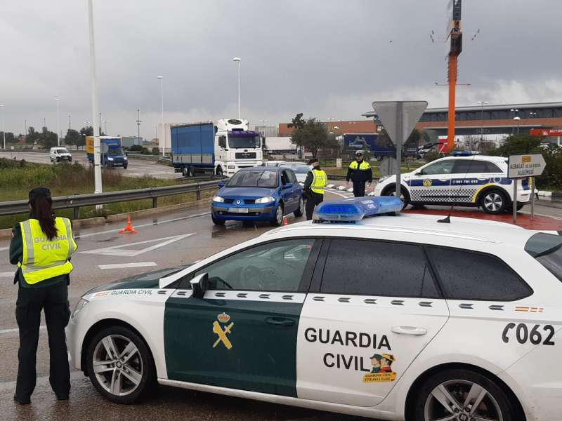 Guardia Civil sueca./EPDA