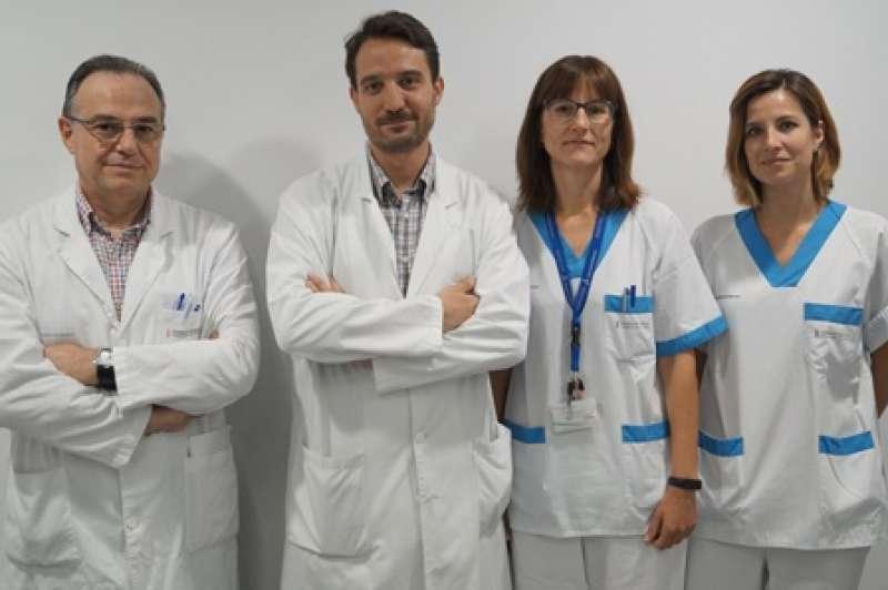 Profesionales del Hospital de Manises. EPDA