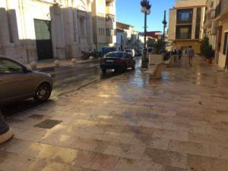 Una de las calles de Cheste