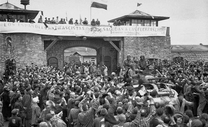 Liberación de un campo de concentración
