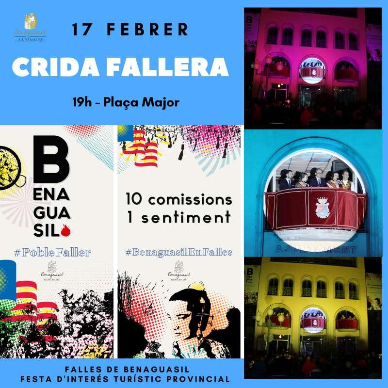 Cartel de Crida en Benaguasil./epda