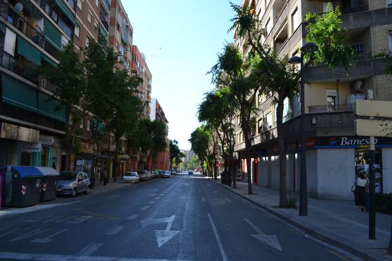 Imagen de la Avenida de Burjassot, València. / EPDA