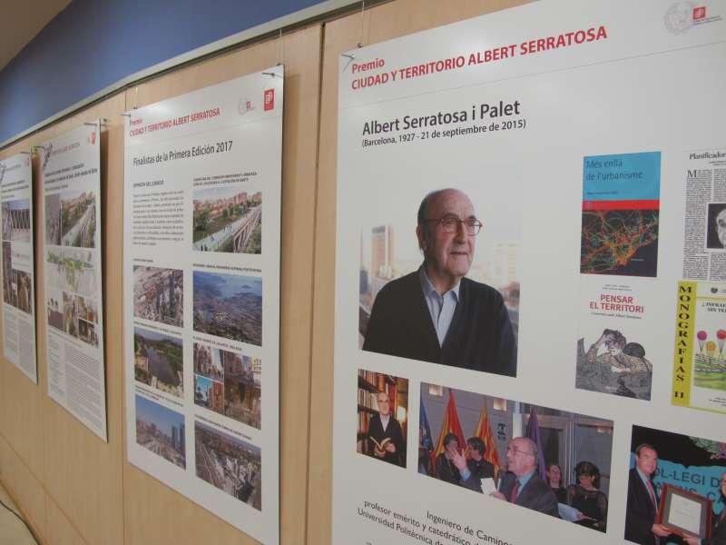 La exposición ?Ciudad y Territorio, Albert Serratosa?