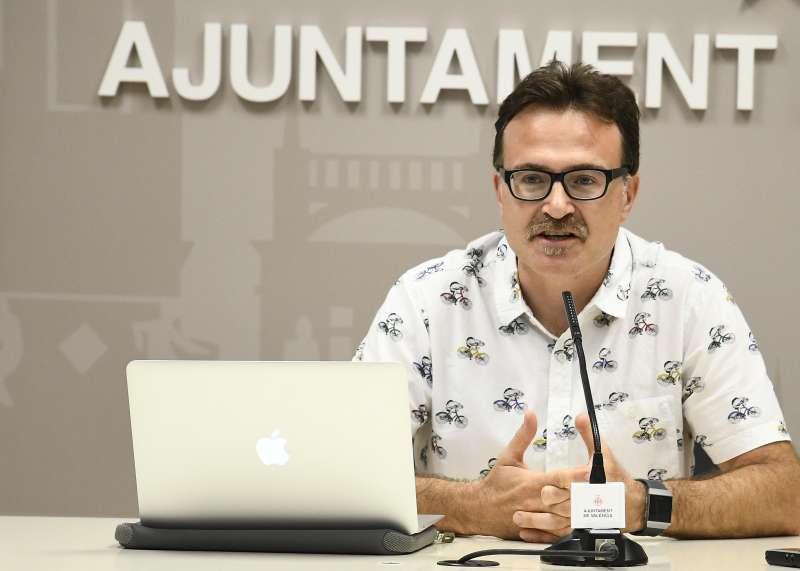 Giuseppe Grezzi, nuev concejal de Playas. EPDA