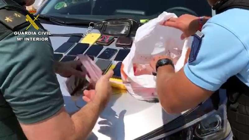 Recuperación de objetos robados en Buñol. EPDA