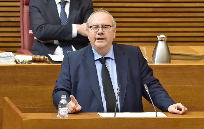 Vicente Fernández en el pleno./PDA