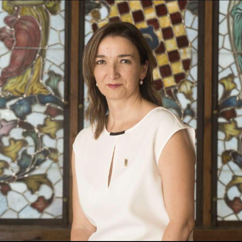 La alcaldesa de Benissanó, Amparo Navarro.//EPDA