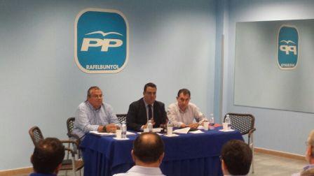 Miguel Bailach preside la ejecutiva comarcal del Partido Popular en l?Horta Nord. FOTO: EPDA