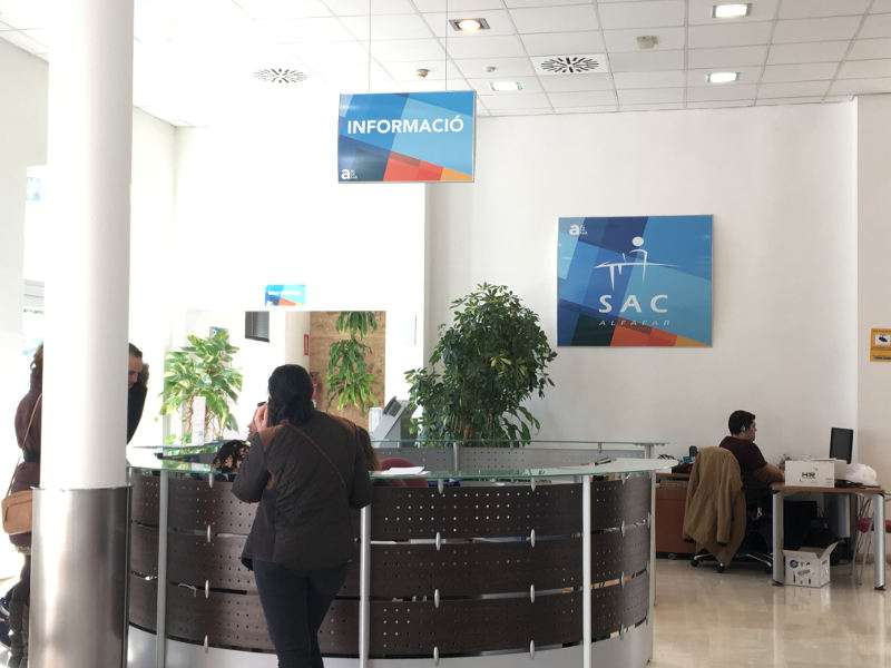 Oficina de información municipal de Alfafar. EPDA
