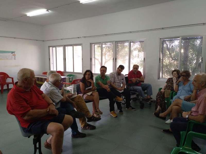 Reunión de Ciudadanos Sagunt con la Asociación de Vecinos de Almardà. EPDA