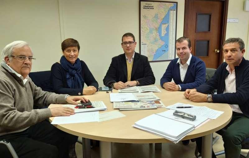 Reunión en Valencia plan Edificant