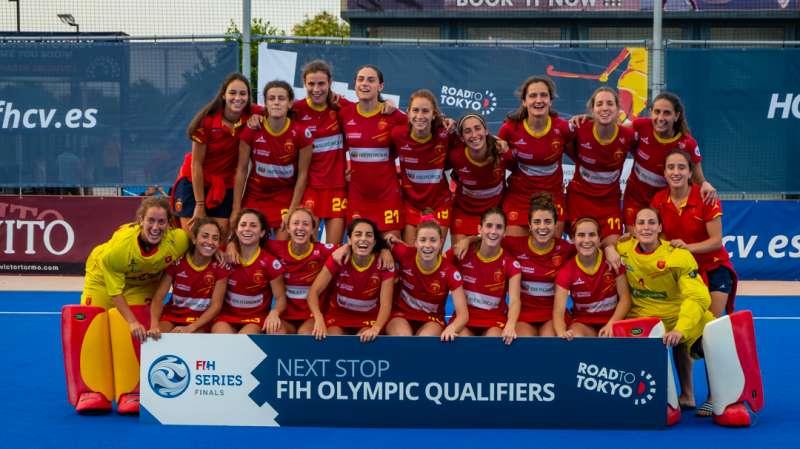 Selección española de hockey femenino