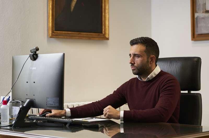 Darío Moreno, alcalde de Sagunt