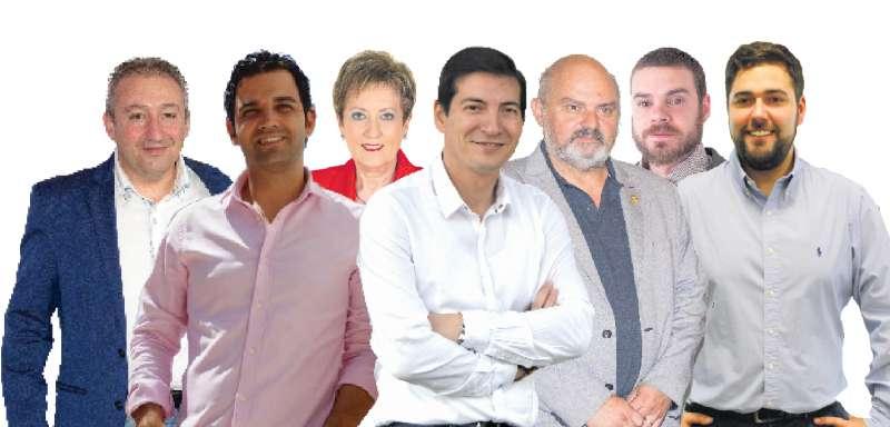 Candidados con mayorías absolutas en l
