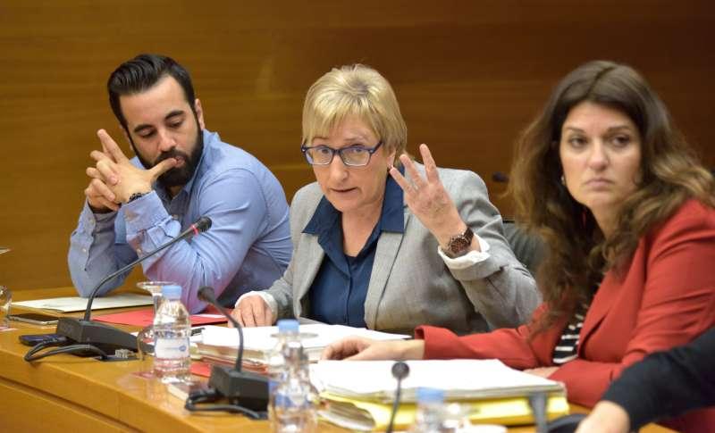 La portavoz adjunta del grupo socialista en Les Corts, Ana Barceló