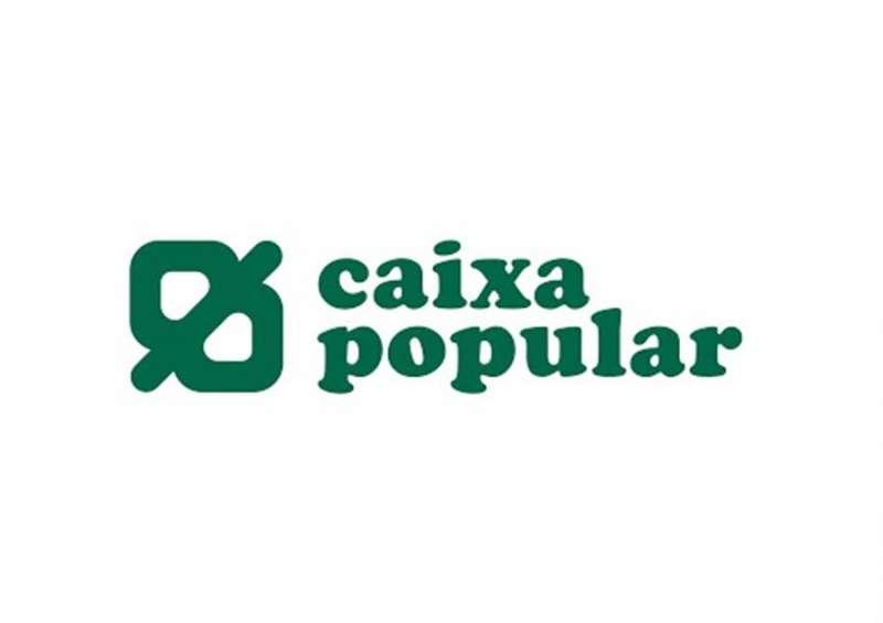 Logo de Caixa Popular.