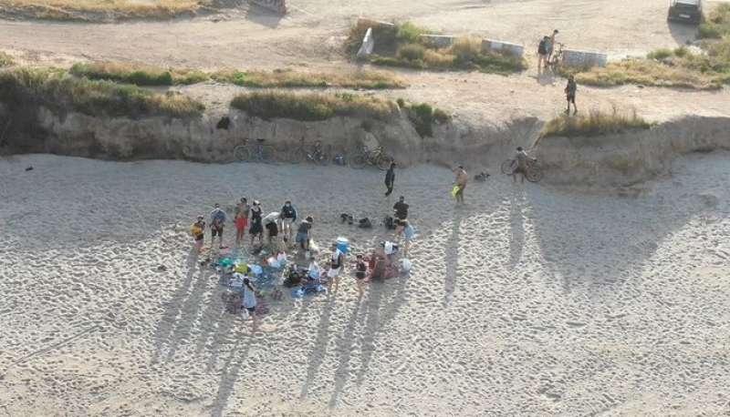 Imágenes captadas con el dron en Alboraya