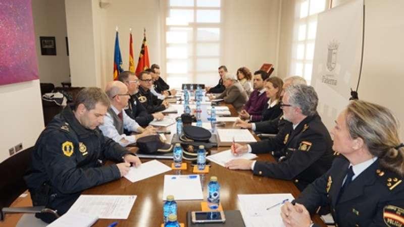Junta de Seguridad en Paterna. EPDA