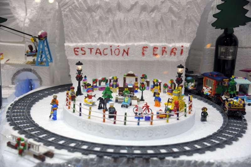 Decoración ganadora de Bodegas Ferri. EPDA