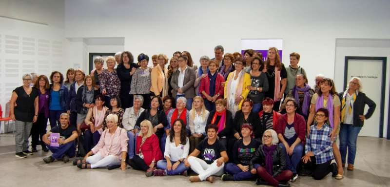 Durante la 8ª Jornada de la Casa de la Dona 2018.
