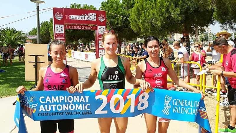 Noèlia Juan, campiona autonòmica de Triatló Sprint a Vinaròs
