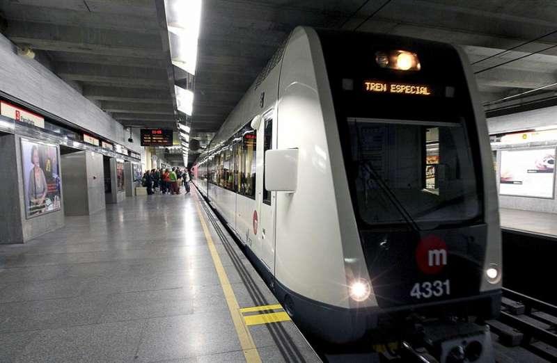 Imagen del metro de València. EFE/Manuel Bruque